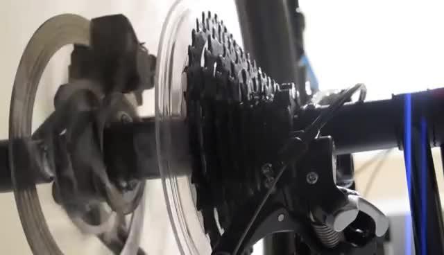 MTB Cassette Wobble GIFs