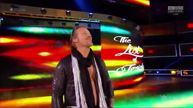 Chris Jericho Return Entrance