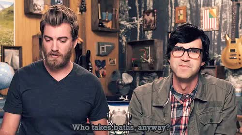 Watch and share Rhett Mclaughlin GIFs and Rhett And Link GIFs on Gfycat