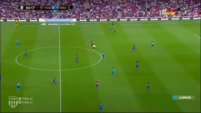 Watch and share Benzema Destroying Pique (Super Cup - 1st Leg) GIFs by Shewie on Gfycat