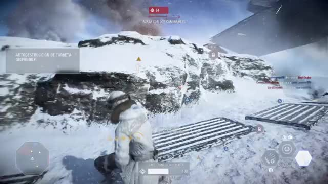 Watch and share #PS4share  STAR WARS BATTLEFRONT II Https://store.playstation.com/#!/es-es/ti... GIFs on Gfycat