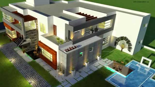 Watch and share 3d Front Elevatoin GIFs and House Design GIFs by 3dfrontelevation on Gfycat
