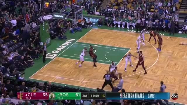 Watch and share Cleveland Cavaliers GIFs and Boston Celtics GIFs by Defensive Master _ Allen on Gfycat