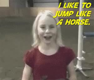 Watch and share When You Like To Jump Like A Horse By Busta_Marley In WTF GIFs on Gfycat