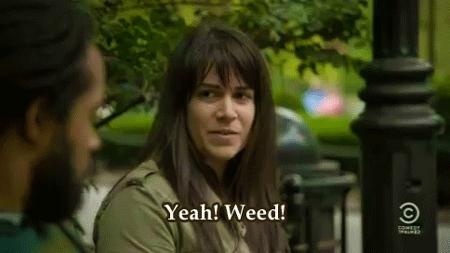 abbi, abbi jacobson, broad city, mine, pu$$y weed, s1e2,