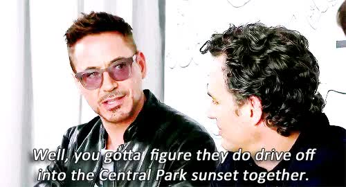 Watch and share Robert Downey Jr GIFs and Mark Ruffalo GIFs on Gfycat