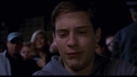 Watch and share Tobey Maguire GIFs and Sad Face GIFs on Gfycat