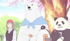 Watch  || Episode 50  GIF on Gfycat. Discover more LOL, Shirokuma cafe, THIS IS SUCHA  RIDIC ANIME BUT CUTE AND FUNNY AYY, anime scenery, kind of, kuro gif, polar bear's cafe, shirocafe gif, shirokuma cafe gif, shit gif GIFs on Gfycat