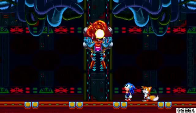 Watch and share Sonic Mania | Titanic Monarch Acts 1 & 2 - Final Boss Battle! GIFs on Gfycat
