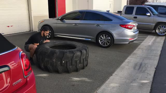 Watch Tire Flip GIF by Gymapp (@hardcoregym) on Gfycat. Discover more related GIFs on Gfycat
