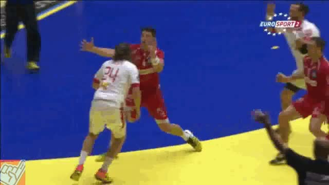 Watch handball GIF on Gfycat. Discover more related GIFs on Gfycat