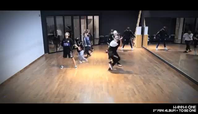 Watch and share Wanna One (워너원) -  활활 (Burn It Up) Practice Ver. GIFs on Gfycat