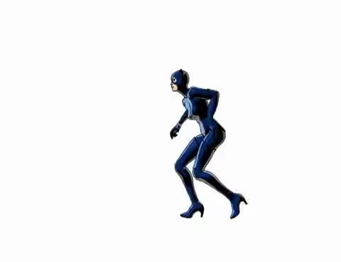 Watch and share 3d Catwoman GIFs on Gfycat