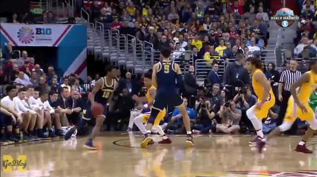 Watch and share Big Ten Tournament GIFs and Derrick Walton GIFs by Ace Anbender on Gfycat