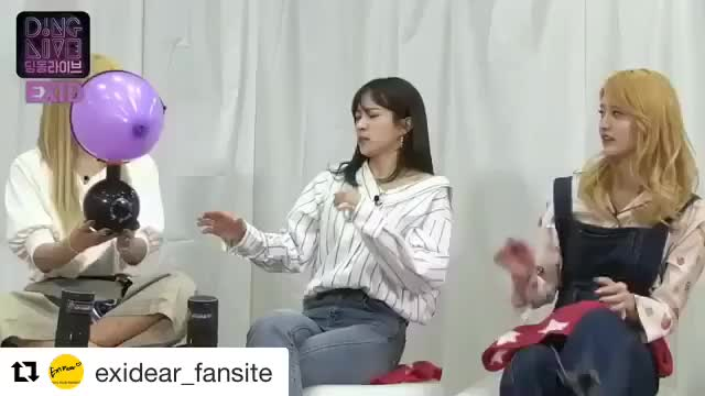 Watch and share EXID Balloon 🎈 GIFs by zdrocker on Gfycat