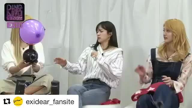 EXID Balloon 🎈 GIFs