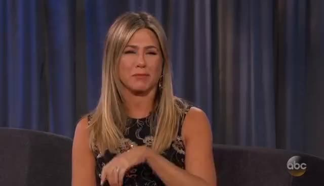 jennifer aniston, Jennifer Aniston on Jimmy Kimmel Hosting the Oscars GIFs