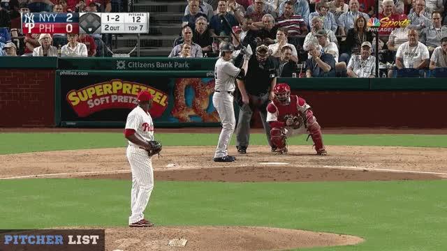 Watch Neris FS 6-25-18 GIF on Gfycat. Discover more New York Yankees, Philadelphia Phillies, baseball GIFs on Gfycat