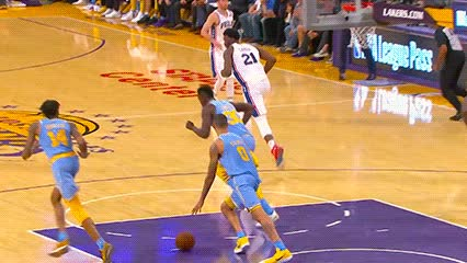 111517, Kyle Kuzma — Los Angeles Lakers GIFs