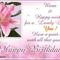 Watch and share Birthday Wish GIFs on Gfycat