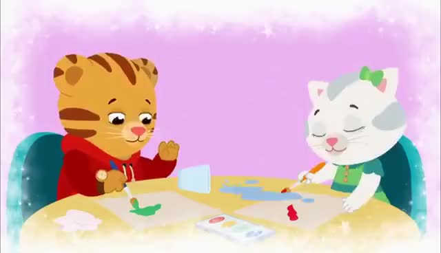 Watch and share DANIEL TIGER'S NEIGHBORHOOD | Saying I'm Sorry Is The First Step (Song) | PBS KIDS GIFs on Gfycat