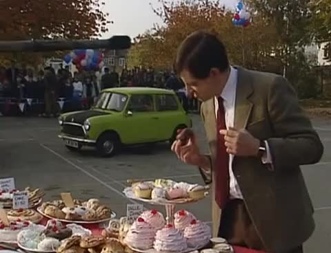 Watch and share Rowan Atkinson GIFs and Mr Bean GIFs on Gfycat