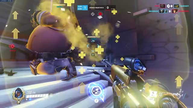 Watch and share Doomfist Slams Through Elevator 2018-05-14 GIFs by coolbrown on Gfycat