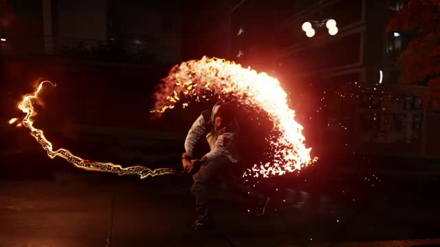 Watch and share InFAMOUS Second Son Fire Chain GIFs on Gfycat