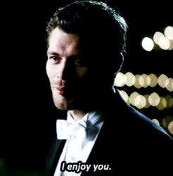Watch and share Caroline Forbes GIFs and Klaus Mikaelson GIFs on Gfycat