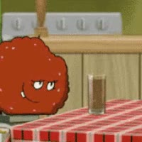 Watch and share Aqua Team Hunger Force Meatwad Arms Photo: Aqua Teen Hunger Force AquaTeen5_250.gif GIFs on Gfycat