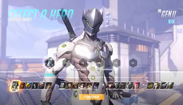 Watch and share Overwatch Character Selection 4K GIFs on Gfycat