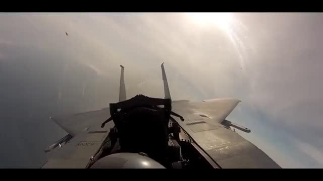 Iron Man vs F-22 Raptor - Dogfight Scene - Iron Man (2008) Movie
