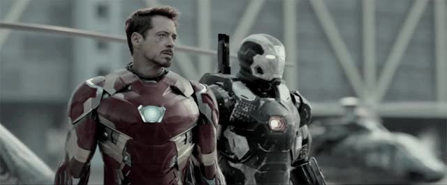 Watch and share Iron Patriot GIFs on Gfycat