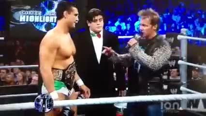 Chris Jericho and Ricardo Rodriguez