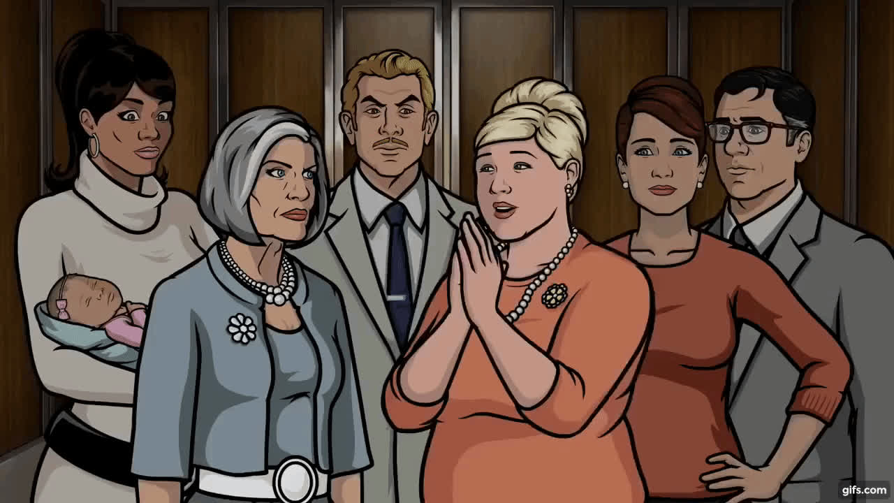 ArcherFX, Archer - Aren't you all so FREAKIN' EXCITED!? GIFs