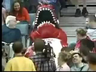 raptor mascot, rap GIFs
