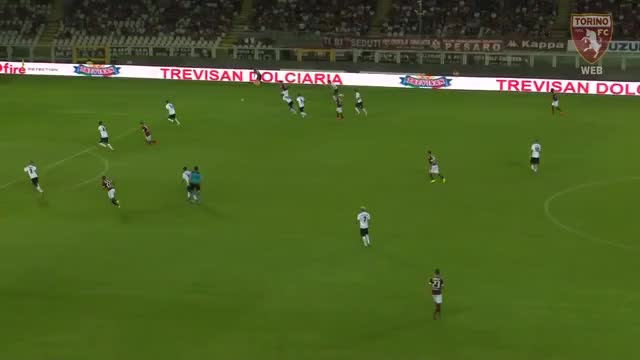 Watch and share Bruno Peres Goal Vs. Pro Vercelli (3-0) GIFs by blizbor on Gfycat