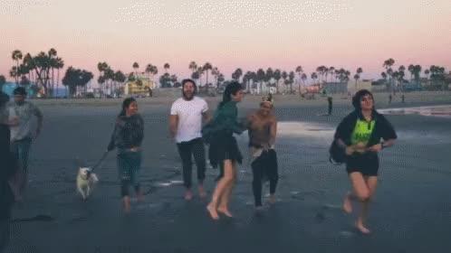 Watch Beach with the Krew GIF by Krewella (@krewella) on Gfycat. Discover more Jahan Yousaf, Krew life, Krewella, Yasmine Yousaf, edm, music GIFs on Gfycat