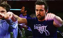 Watch and share Its Always Sunny GIFs and Rob Mcelhenney GIFs on Gfycat