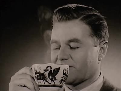 Watch Coffee Happiness: Via Maxwell House Ad (1950s) Marc Rodriguez GIF by Marc Rodriguez (@marcrodriguez) on Gfycat. Discover more ad, breakfast, coffee, coffee ad, coffee cup, cup, drink, drinking, happiness, happy, java, joe, man, marc rodriguez, morning, tasty, television GIFs on Gfycat
