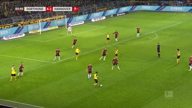 Watch and share Witsel Goal BVB [5] - 1 H96 GIFs on Gfycat