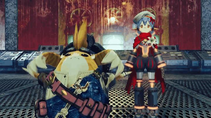 Monolithsoft, Nintendo, Poppi, Tora, Xenoblade, Xenoblade Chronicles, Xenoblade Chronicles 2, Xenoblade Chronicles 2 - Tora & Poppi GIFs