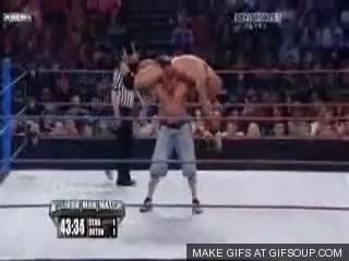 Watch and share Attitude Adjustment Into Rko GIFs on Gfycat