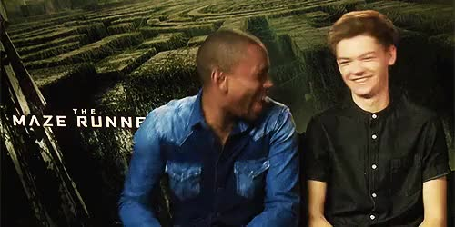 Watch and share The Maze Runner GIFs and Aml Ameen GIFs on Gfycat