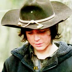 Watch and share Carl Grimes GIFs on Gfycat