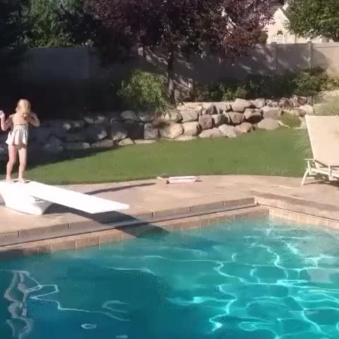 Watch and share This Girl Has A Perfect Diving Technique. (i..com) GIFs on Gfycat