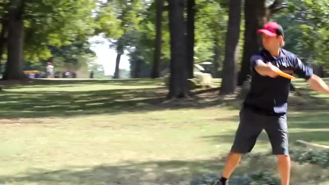 Watch 2013 USDGC Round 4 - Hole 2 - Drives GIF by @rprodart on Gfycat. Discover more 2013 usdgc, nate doss (person), united states disc golf championship GIFs on Gfycat