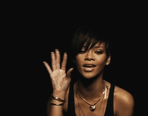 Rihanna, reactiongifs, Rhianna waves bye GIFs