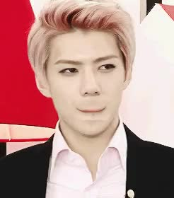 Watch Creepy. GIF on Gfycat. Discover more exo, gif, i don't really know, kpop, of my life, sehun, what i'm doing GIFs on Gfycat