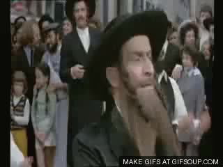 Watch and share Rabbi Jacob GIFs by exa on Gfycat